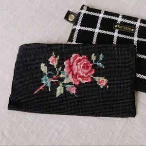 Handbags - Vintage Rose Clutch